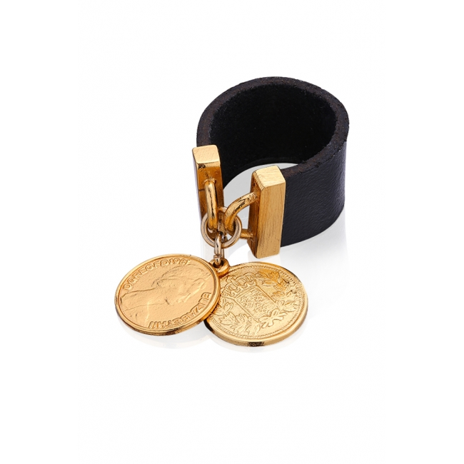 Royal Coin Ring in Gold
